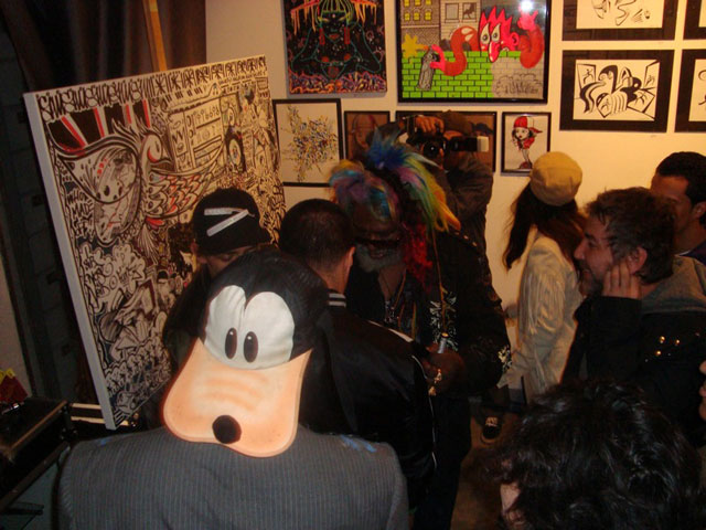 George Clinton spotted doodling @ The Sharpie Show